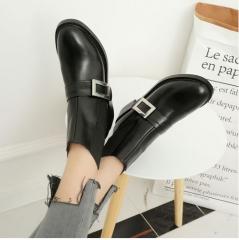 K汐-巴汐 纯色气质角度看阔腿裤12356565656 黑色